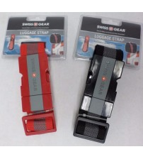 Luggage Strap Ultra Rugged Fits Bags Up To 72 in Black Or Red Buckle Swiss Gear TRAV 47
