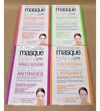 Masque Bar by Look Beauty 3 Complete Mask Satchets