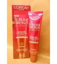 LOréal Paris Sublime Bronze Wash Off Face Bronzer Medium 1.0 oz New Exp 12/17 + SAT 676