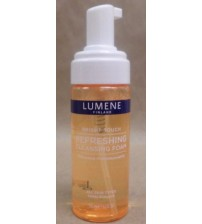 Lumene Bright Touch Refreshing Cleansing Foam For All Skin Types 5.1 oz New