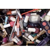 100 Pc Wholesale Mixed Makeup Lot Assorted Eyes Lips Nails Jackelin Pantina NEW EAS 1102