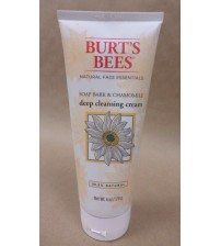 Burts Bees Deep Cleansing Cream Soap Bark and Chamomile 6 oz Sealed Exp 11/17 +