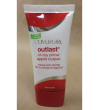 CoverGirl Outlast All Day Primer Makeup Wear Extender 1 fl oz New Exp 03/18