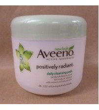 Aveeno Active Naturals Positively Radiant Daily Cleansing Pads 28 COUNT SEALED