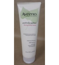 Aveeno Firming Body Lotion Positively Ageless Lightly Fragranced 8 oz Exp 01/18+