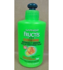 Garnier Fructis Leave in Conditioning Cream Sleek and Shine 10.2 oz Exp 02/18 +
