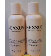 . Nexxus New York Salon Care Color Assure Conditioner Travel Size New LOT of 2 MJB 279
