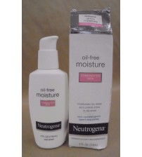 Neutrogena Oil Free Moisture Facial Moisturizer Combination Skin 4 oz EXP 09/18