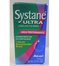 Systane Ultra High Performance Lubricant Eye Drops 10 mL SEALED Exp 09/17 +