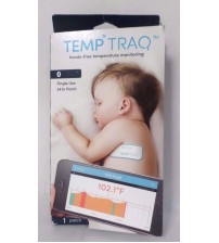 TempTraq Hands Free Temperature Monitoring Single Use 24hr Patch Exp 06/18  GAB 115