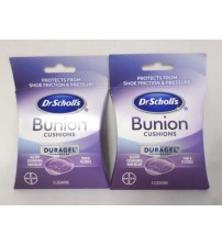 Dr Scholls Duragel Bunion Cushions All Day Pain Relief 5 Cushions LOT OF 2 GAB 138