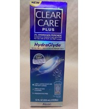 Alcon Clear Care Plus HydraGlyde Cleaning Solution 12 fl oz Exp 06/18 SEALED OTC 2655