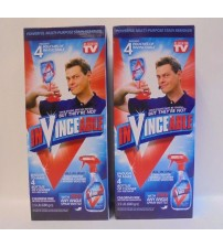 InVinceable Powerful All Purpose Cleaner Stain Remover As Seen On TV Lot of 2