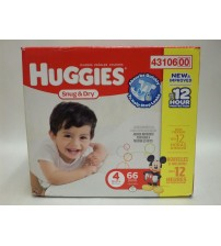 Huggies Snug and Dry Diapers Triple Layer Protection Disney Choose Your Size New