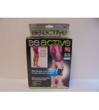 BeActive Leg Brace Right or Left Leg As Seen On TV One Size Fits All Black New