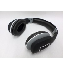 Hype Prima Wireless Headphones Folding Headset Bluetooth Black and White Used