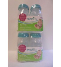 Evenflo Breasmilk Collection Bottles 4 Pack 5 Ounce BPA Free Lot of 2 Brand New BABY 689