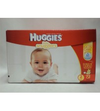 Huggies Diapers Little Snugglers Size 2 Outstanding Skin Care 72 Count Brand New DRP 8