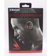 Bluetooth Sports Earphones Built In Microphone Black and Red Breached by iHip ELEC 808