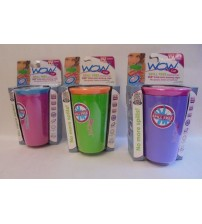 Wow Drinking Cup Spill Free Ages 12 Mo and Up As Seen On TV You Choose Lot Of 2 ASTV 362