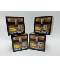 Minecraft Blind Pack Mini Figurine Chest Collect Them All Series 2 New Lot of 4