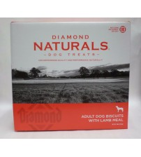 Dog Treats from Diamond Naturals Adult Biscuits with Lamb Meal 19 LBS Exp 08/17 PET 237