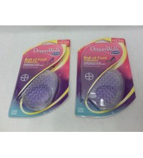 Dr Scholls Ball of Foot Cushions Womens DreamWalk Lot of 2 Purple Brand New