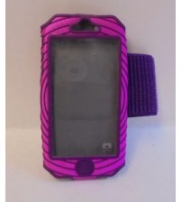 Armband For Iphone 5 and 5S Sonic Boom by Nathan Light Durable Pink Purple New WEAR 575