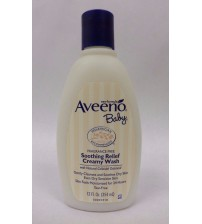 Aveeno Baby Soothing Relief Creamy Wash 12 fl oz Fragrance Free Exp 03/18 ARZ 618