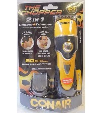 Conair The Chopper 2 in 1 Clipper and Trimmer Grooming System 24 Pieces New  MJB 521