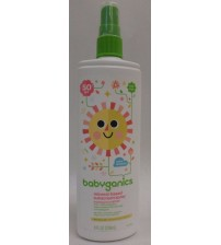 Babyganics Mineral-Based Sunscreen Spray 8 oz SPF 50 Tear Free Water Resistant BEA 1446