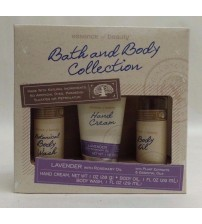 Essence of Beauty 3 pc Bath and Body Collection Lavender and Rosemary Oil