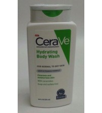CeraVe Hydrating Body Wash for Normal to Dry Skin Gentle Formula 10 fl oz