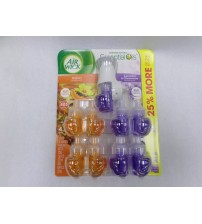 Air Wick Refills Scented Oil 9 bottles total of Lavender and Chamomile + Hawaii