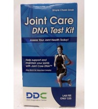 DDC Joint Care DNA Test Kit Tests Genes that Influence Collagen Quality SEALED