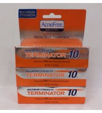 AcneFree Severe Acne Spot Treatment Maximum Strength Lot of 3 Exp 10/17 +