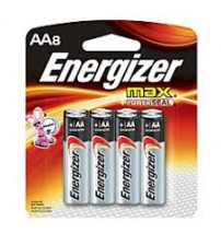 Energizer Max AA Batteries 8 Count