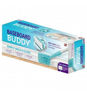 Baseboard Buddy Duster with 3 Reusable Pads