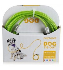 Green Tie Out Cable for Dogs