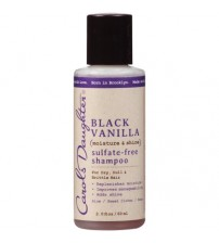 Carol's Daughter Black Vanilla Moisture and Shine Sulfate Free Shampoo, 2 oz