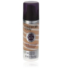 CoverGirl and Olay Tone Rehab 2-In-1 Foundation, Nude Beige 132, 1 Fl Oz