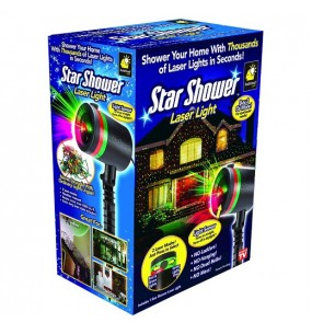 Star Shower Laser Light Projector Red & Green or Green Only
