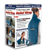 Thermapulse Heat & Massage Body Relief Wrap with Magnetic Clasp
