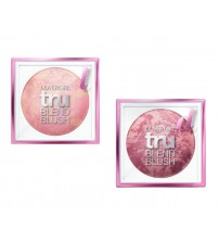 CoverGirl Tru Blend Marbled Baked Blush, Light Rose 100