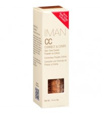 IMAN CC Correct & Cover Powder to Cream Skin Tone Evener