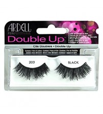 Ardell Double Up Reusable Hand Made False Lashes, Black