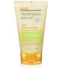 Neutrogena Naturals Acne Foaming Scrub, 4.2oz