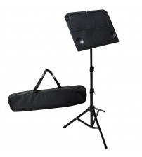 ADM Foldable Extra Light Large Music Stand, Black