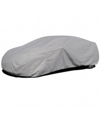 APZONA 4 Layers Non-woven Fabric Universal Car Cover Size L Fits Sedans up to 190 inches Water Resistant,UV&Dust Proof