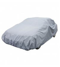 APZONA PVC and Non-woven Fabric Universal Car Cover Size M Fits Sedans up to 170 inches Water Resistant,UV&Dust Proof